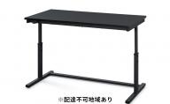 昇降デスク 幅120cm UDD-1200(ブラック)