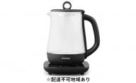 ガラスケトル 温度調整付 IKE-G1500T-B
