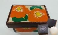 オリジナル 花手箱(中)と ツクシイバラ 石鹸 2個セット