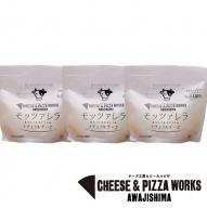 HH05:洲本市 川上牧場の朝しぼり生乳で作った手作りフレッシュ モッツァレラ 100g×3個