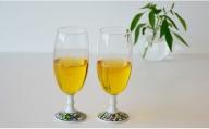 A10-167【訳あり】有田焼ペアビールグラス(ビートロ薔薇&ビートロぶどう) 東洋セラミックス
