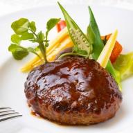 SB020【ホテルメイド】土佐あかうし100%ハンバーグステーキ自家製ソース2種(150g×2個)年12回お届け