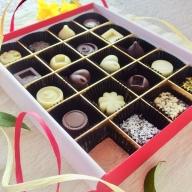 21-22_オーガニックチョコ100%使用ミニチョコ&乳製品フリー生チョコセット<20個入り>