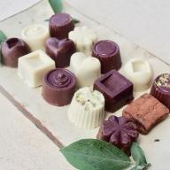 21-23_白砂糖不使用オーガニックチョコ100%使用ミニチョコセット<15個入り>