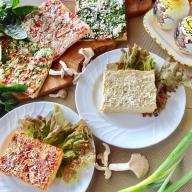 21-26_手作りラザニア&綾野菜の天然酵母ピザセット