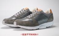 MIDFOOT紳士靴 レザースニーカー MF-001JM グレー
