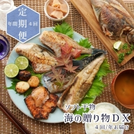 【ふるさと納税】【定期便】海の贈り物DX ソフト干物盛り合わせ