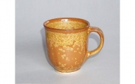 No.035 金花紋マグカップ / 焼き物 陶器 工芸 コップ 群馬県