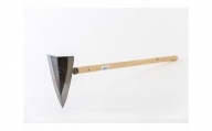 No.039 三角鍬(くわ)約24cm / 農具 クワ 鍛冶 園芸 農作業 群馬県