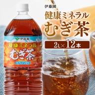 伊藤園 健康ミネラル むぎ茶 2L×6本×2ケースPET