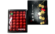 《先行予約》【R3年6月上中旬お届け】ハウスさくらんぼ 紅秀峰 500g(特秀2L~3L)化粧箱 手詰め 2021年産