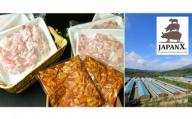 牧場直送JAPAN X 豚小間&ホルモン/計2.4kg