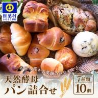 休日の朝に食べたい天然酵母パン詰合わせ【日本三大秘境 椎葉村の人気ベーカリー】