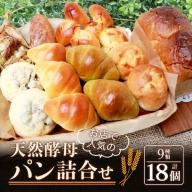 【低温長時間発酵】お店で人気の天然酵母パン 詰め合わせ【ロングセラー】【国産小麦使用】