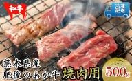 熊本県産 和牛 あか牛 焼き肉 用 600g