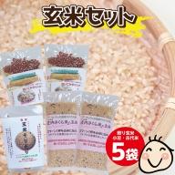 SZ0071 ちっちゃな農家の大きな夢 手軽に玄米を! 玄米セット