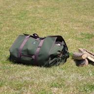 キャンプ・焚き火用 薪バッグ / 薪キャリー 薪入れ ログキャリー ショルダー薪バッグ ME-004