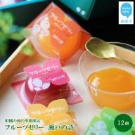 【期間限定】柑橘の国の季節限定 フルーツゼリー「瀬戸の詩」(12個入) サマーギフト 【ハタダ】