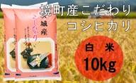 S166【令和3年産】境町産こだわり白米「コシヒカリ」10kg(5kg×2袋)新米