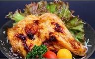 [5839-1346]【割烹とりしん】鶏のもも焼き(たれ)4本