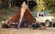 火剣山キャンプ場 キャンプサイト昼利用券(2区画)