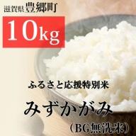 【特Aランク】ふるさと応援特別米みずかがみ(BG無洗米)10kg