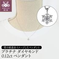プラチナ ダイヤモンド0.12ctペンダント(PNI-101PTNW)
