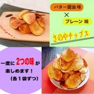 005A287  一度食べたら止まらない!さのやチップス ミックス(プレーン味・バター醤油)