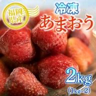 MZ027 冷凍あまおう 2kg(500g×4袋) いちご 果物 フルーツ