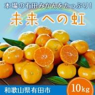 2.有田みかん「未来への虹」(10kg)