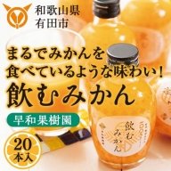 13.【早和果樹園】飲むみかん20本入