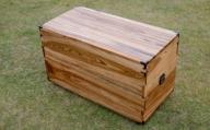 【家具職人が天然木で作りあげた】楠の衣装箱