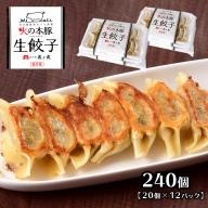 K17-2 火の本豚餃子 240個入 (20個×12パック)
