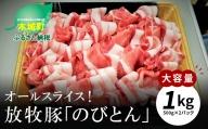 K25_0007 放牧豚「のびとん」オールスライス!500g×2パック