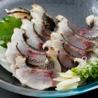 HN046室戸の旬のタタキセット【チリ酢と薬味付き】