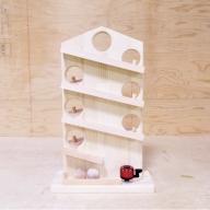 099H369 手作り木製 クーゲルバーン