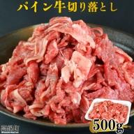 <パイン牛切り落とし 500g>