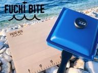 【FUCHI BITE】 スケール付き木製まな板(青森ヒバ)・フタ付きワイドパンセット