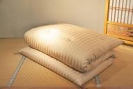 【ふるさと納税】熟練職人が作る天然素材 最高級の敷布団(薄型)