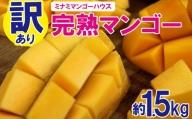 【訳あり品】ミナミマンゴーハウスの完熟マンゴー約1.5kg