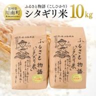 ☆早場米☆ 令和3年産 シタギリ米 「コシヒカリ」 10kg