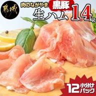 黒豚生ハム1.4kg_MJ-2519