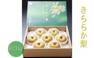 藤岡さんが作ったきららか梨(幸水または豊水)約3kg