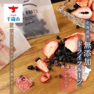 【ギフト用】《北海道産》無添加ドライフルーツ ~イチゴ×ブルーベリー~
