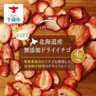 【ギフト用】《北海道産》無添加ドライイチゴ