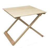 257.国産 四万十ひのき使用『ヒノキの折りたたみテーブル』