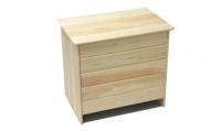 19-247.国産 四万十ひのき使用『ヒノキの小さなベンチボックス』