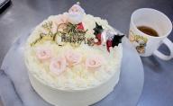 山崎屋洋菓子店 【クリスマス用】昔ながらのバタークリームのデコレーションケーキ6号 【配送不可地域:沖縄】