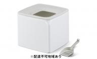 上から猫トイレ プレミアム PRCL-SQ ホワイト/グレー