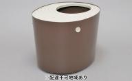 上から猫トイレ システムタイプ PUNT-530S ベージュ/ブラウン